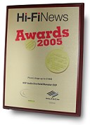 The Hi-Fi News 2005 Award for best phono stage: Elevator EXP plus Era Gold V